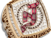 New Jersey Devils 2003 Stanley Cup Ring - Thumbnail