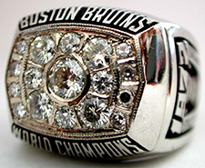 Boston 1961 NHL Stanley Cup ring - Front A