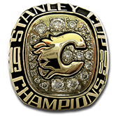 Calgary Flames 1989 Stanley Cup ring - Thumbnail