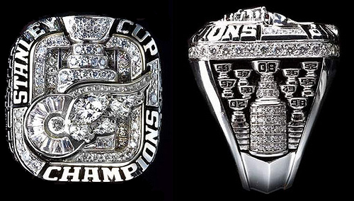 2008 Stanley Cup ring - Detroit Red Wings