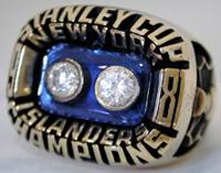 New York Islanders 1981 Stanley Cup ring