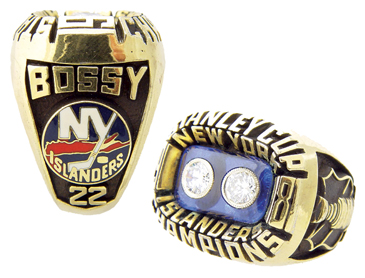 1981 Mike Bossy Stanley Cup ring
