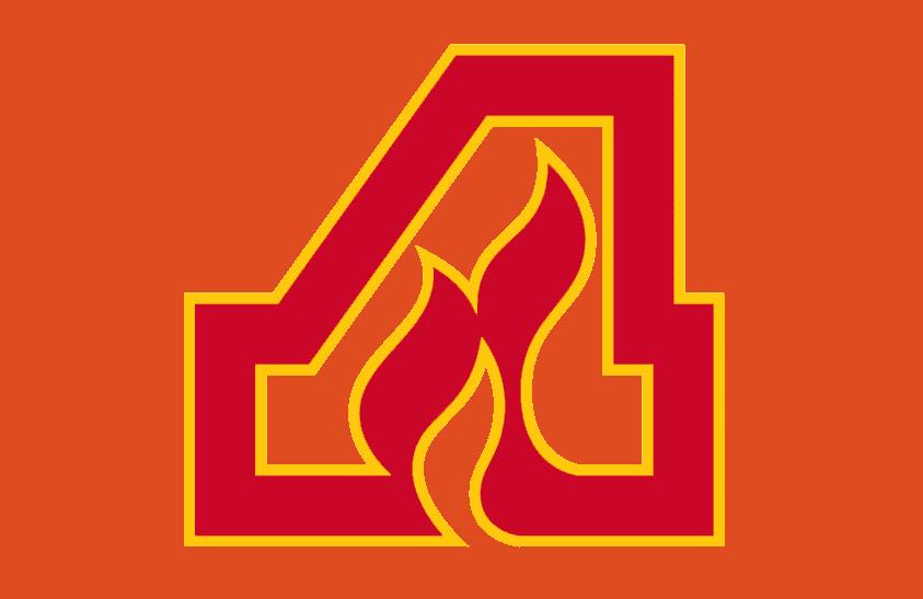 Atlanta Flames jersey logo