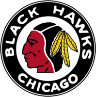 Chicago Blackhawks Logo / 1937 > 1941