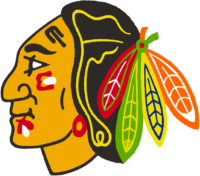 Chicago Blackhawks Logo / 1959 > 1986