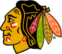 Chicago Blackhawks Logo / 1989 > 1996