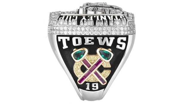 2010 - Chicago Blackhawks Stanley Cup ring - Left