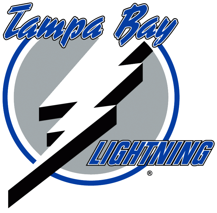 Tampa Bay Lightning Logo / 1992 > 2001