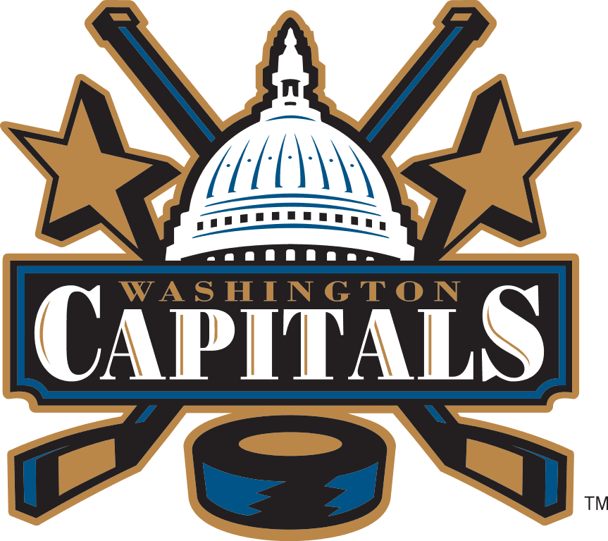 Washington Capitals Logo / 2002 > 2007